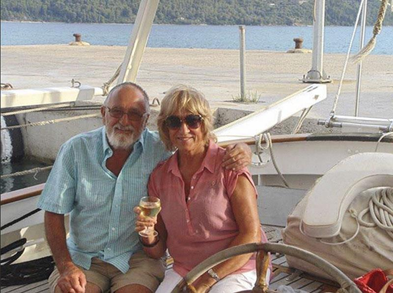 Robin and Helen Lamb and the Ionian Sea photo copyright Robin Lamb taken at  and featuring the Cruising Yacht class