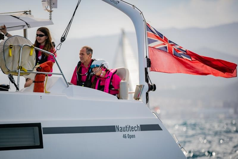 Award winning disabled sailor from Cowes sets off for the Atlantic