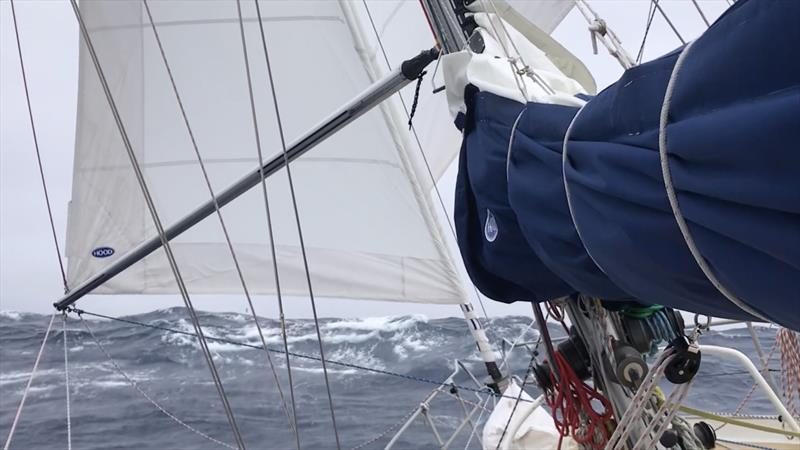 Moli sailing in Southern Ocean conditions - photo © Image courtesy of Randall Reeves