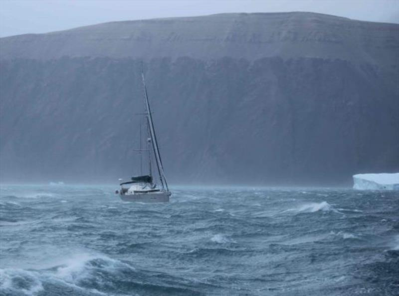 Northwest Passage storm photo copyright Jimmy Cornell taken at  and featuring the Cruising Yacht class