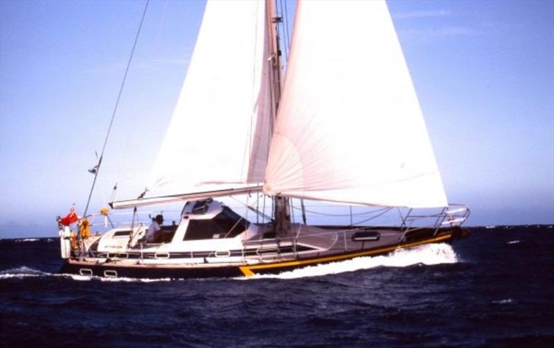 Aventura II photo copyright Jimmy Cornell taken at  and featuring the Cruising Yacht class