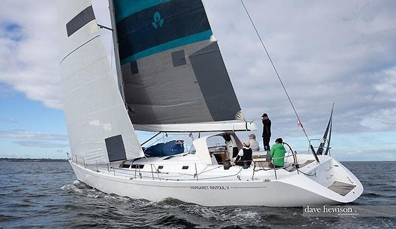 Margaret Rintoul V sailing on Port Phillip - photo © Dave Hewison