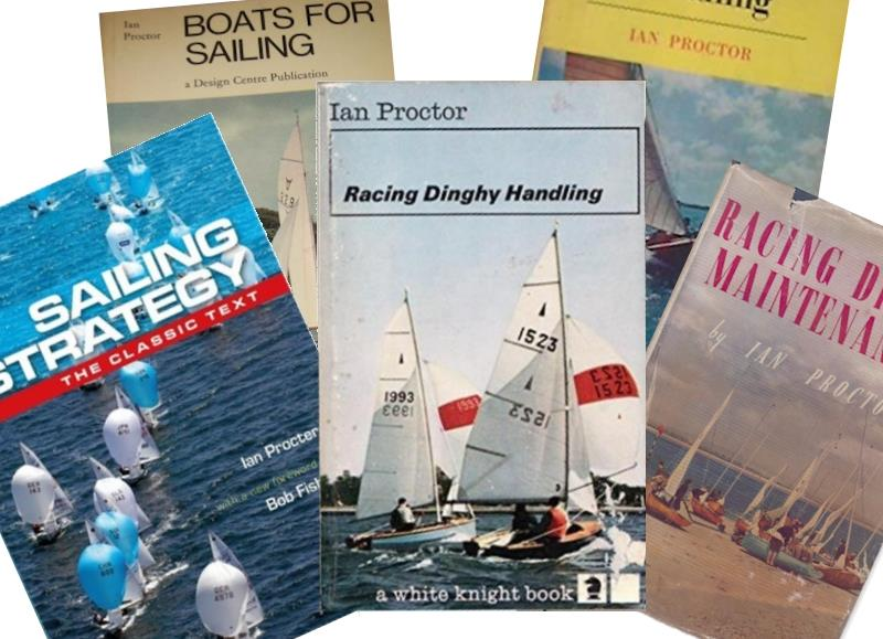 In addition to all his sailing, his designs, his mast making company, innovations and more, Ian Proctor still found time to be a prolific author - photo © Proctor Family