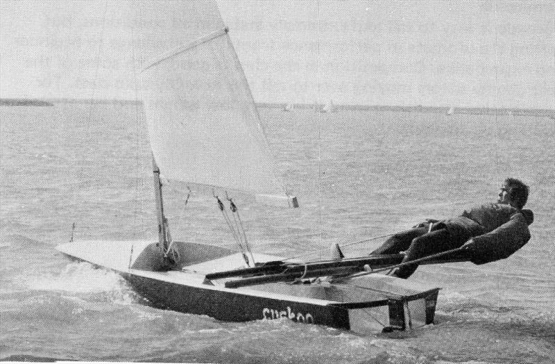 The only commercial success to come out of the 1965 Singlehander Trials at Weymouth, the ToY showed where the future lay, but would itself ultimately be a design dead-end - photo © Trevor Davies