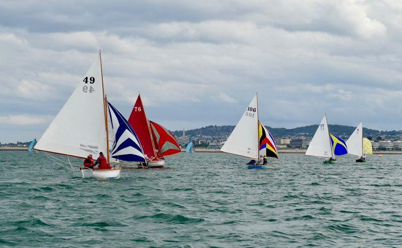 Half Raters racing in the Volvo Dun Laoghaire Regatta  - photo © TBSC