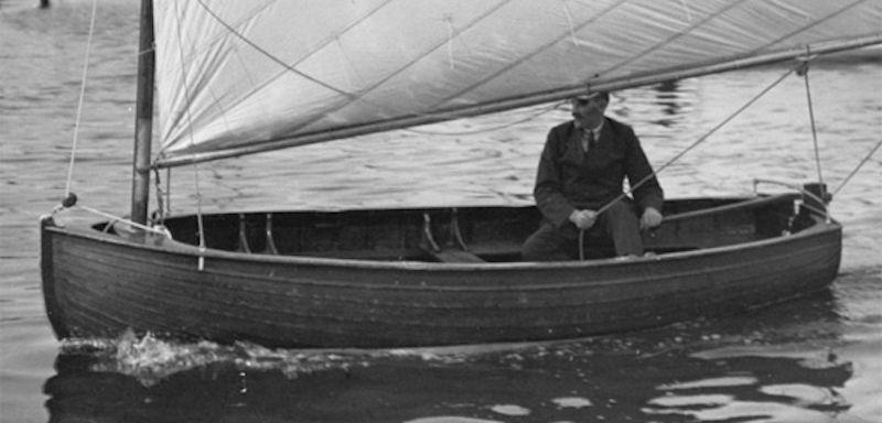 The BRA 1 was designed with boatspeed in mind, with the boat, now designated as the International 12, being used as the Olympic singlehander in 1920 and 1928 - photo © International 12 Association