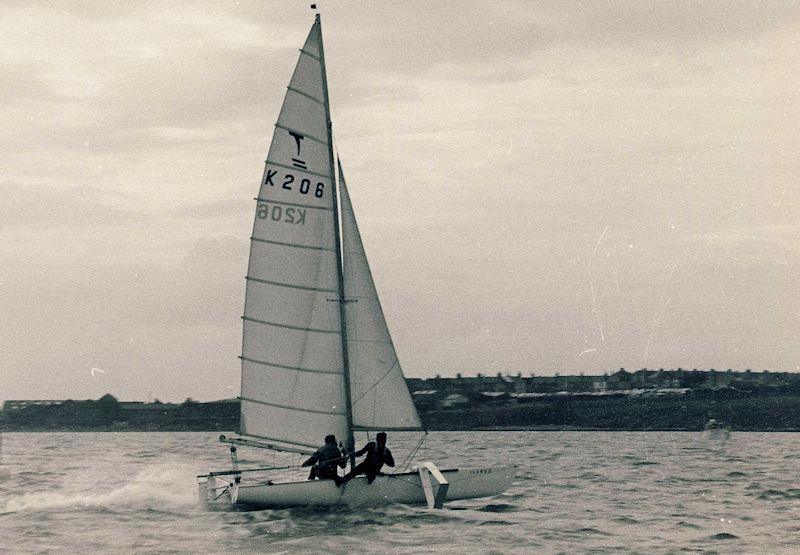 The Tornado cat was already super quick, then when foils were added to the equation it would help redefine what straight line boat speed really meant - photo © Austin Farrar Collection