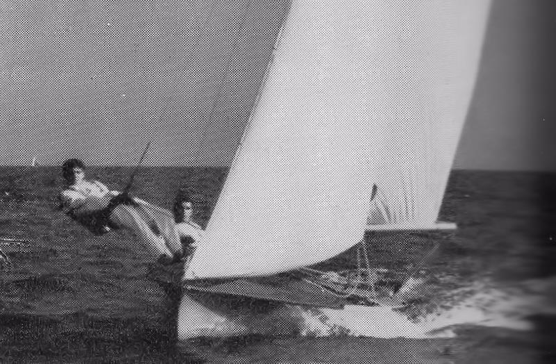 Keith Paul won the 505 UK World Championships in 1962 photo copyright Y&Y taken at  and featuring the Classic & Vintage Dinghy class