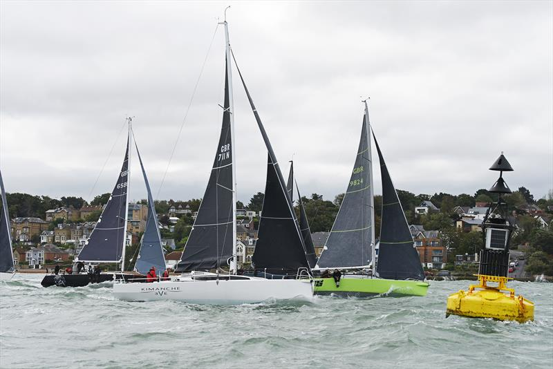Close racing during the JOG Home Ports Regatta 2020 - photo © JOG / Rick Tomlinson