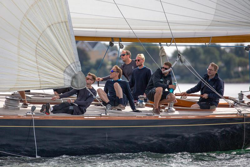 12m Sphinx in race mode photo copyright Cyclops Marine taken at  and featuring the  class
