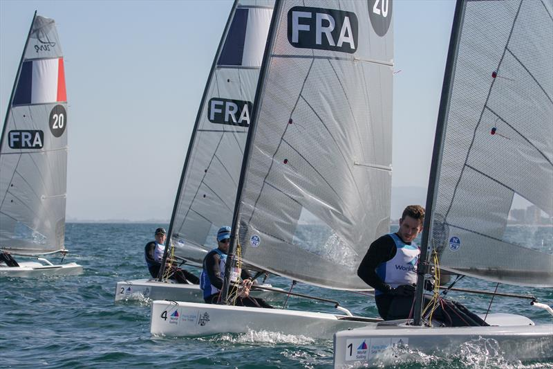 D-Zero - Equipment selection Sea-trials - 2024 Olympic Sailing Competition  - Men's and Women's One Person Dinghy Events. - photo © Daniel Smith - World Sailing
