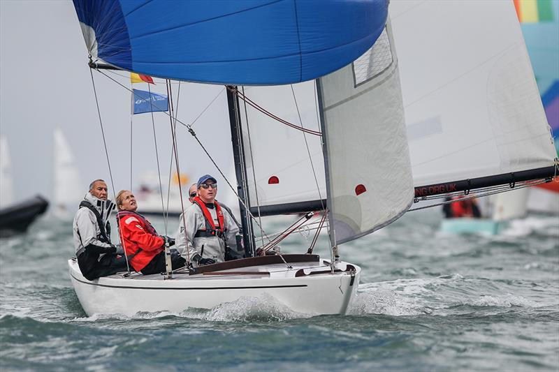 Dauntless, Daring - Lendy Cowes Week 2018 - photo © Paul Wyeth / CWL