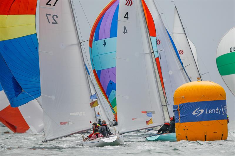 Audax, Double Knot - Lendy Cowes Week 2018 - photo © Paul Wyeth / CWL
