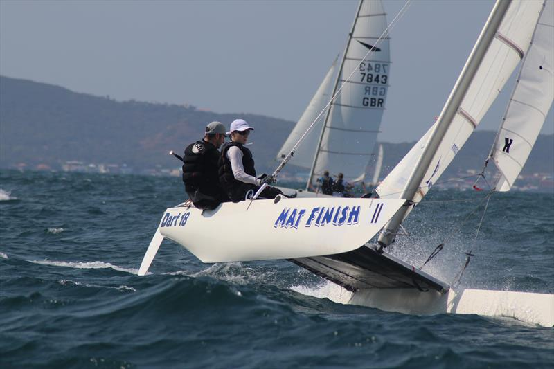 Dart 18 Worlds at Royal Varuna YC day 1 - photo © Sarka Ngassa