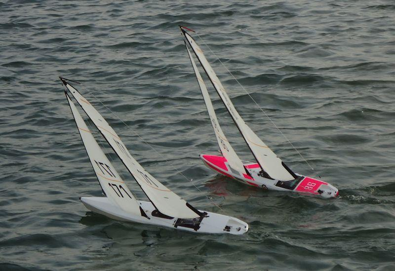 Radio Sailing Winter Series at West Lancs  - photo © Tony Wilson