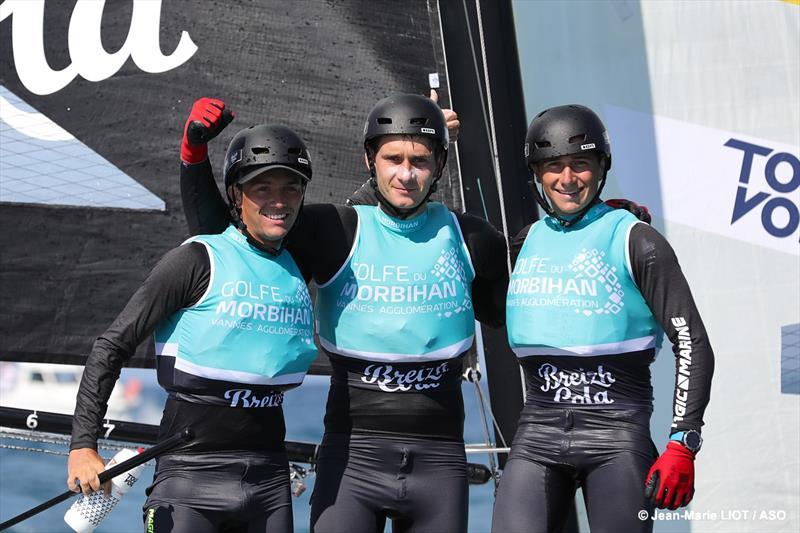 Golfe du Morbihan Breizh Cola racks up breezy first win - 2019 Tour Voile Act 5 - photo © Jean-Marie LIOT / ASO