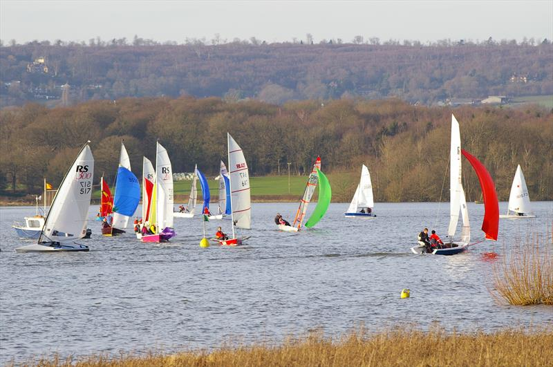 Sailing at Bough Beech Sailing Club - photo © Martyn Smith