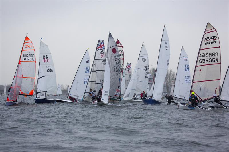 The GJW Direct SailJuice Winter Series champion will be crowned at the Oxford Blue - photo © Tim Olin / www.olinphoto.co.uk