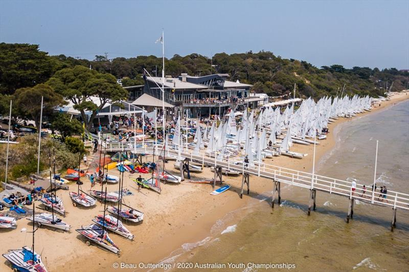 2020 Australian Youth Championships at Sorrento Sailing Couta Boat Club - photo © Beau Outteridge / 2020 Australian Youth Championships