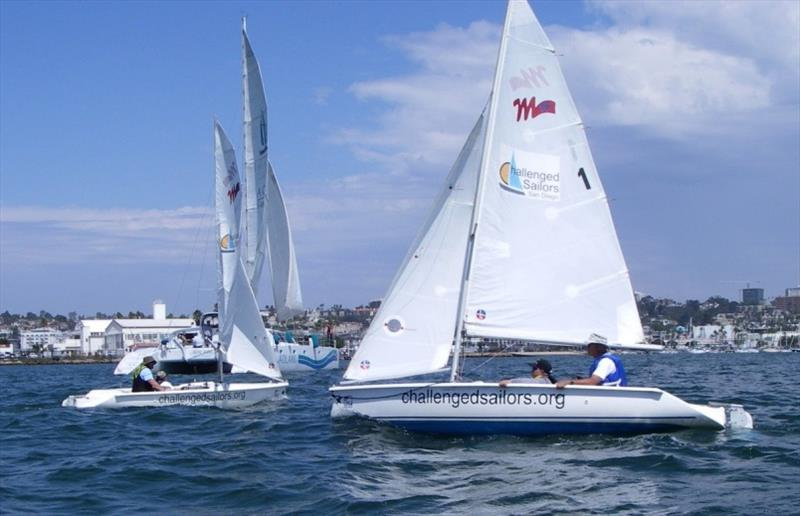 Challenged Sailors San Diego racing in San Diego - photo © CSSD website