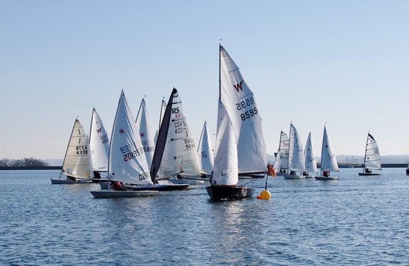 Final day of the Bough Beech SC Icicle Open Series - photo © James Maynard