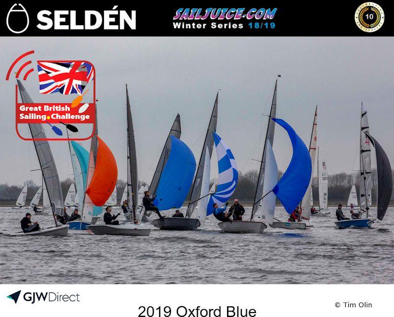 The Oxford Blue forms part of the Selden SailJuice Winter Series - photo © Tim Olin / www.olinphoto.co.uk