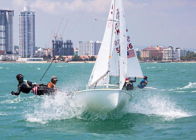 Plenty of action on the dinghy course - Day 5, Top of the Gulf Regatta 2019 - photo © Guy Nowell / Top of the Gulf Regatta
