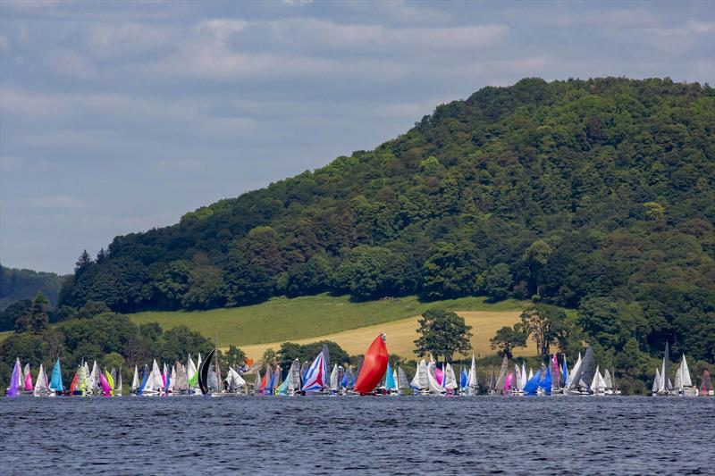Lord Birkett Memorial Trophy 2019 at Ullswater - photo © Tim Olin / www.olinphoto.co.uk