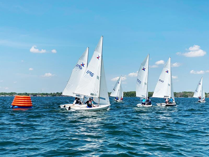 Racecourse action at the 2020 Lake Max Vanguard 15 Series - photo © Image courtesy of the 2020 Lake Max Vanguard 15 Series