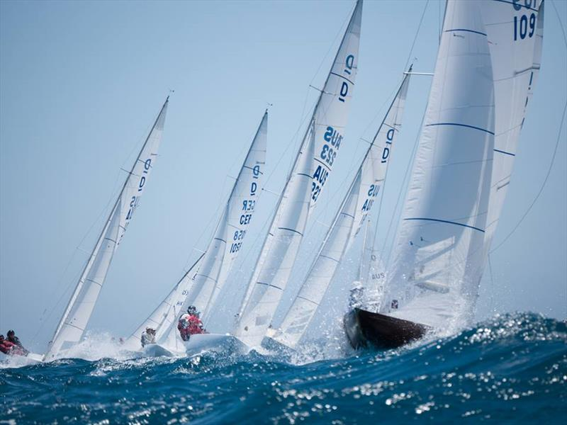 Upwind - Australasian Dragon Championship for the Prince Philip Cup, Day 3 - photo © Tom Hodge Media