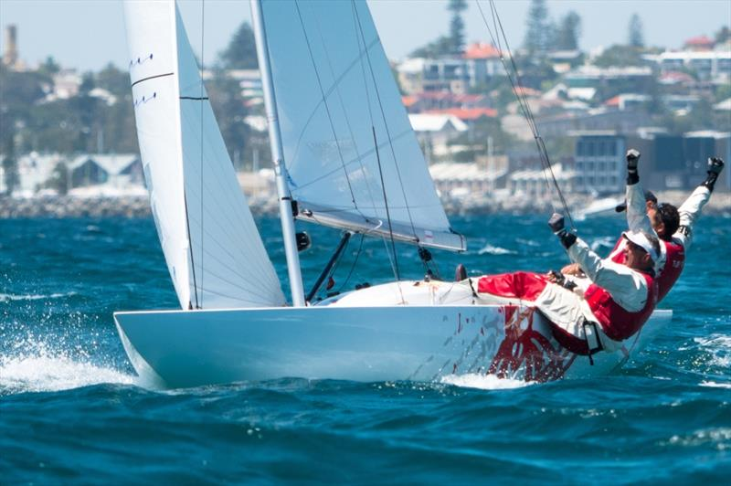 Provezza - 2019 Dragon World Championship at Fremantle photo copyright Tom Hodge Media taken at Royal Freshwater Bay Yacht Club and featuring the Dragon class