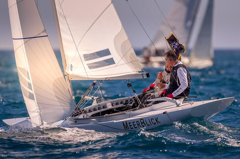 Meerblick, Dragon class winner - 16th Sail Racing PalmaVela - Final Day  - photo © Nico Martinez
