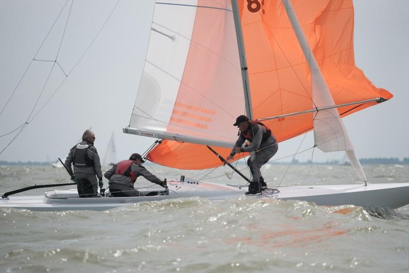 Day 2 - 2019 Yanmar Dragon Gold Cup photo copyright Eric van den Bandt taken at Royal Yacht Club Hollandia and featuring the Dragon class