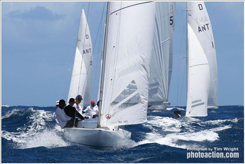 Petticrow Dragon Class - Antigua Classic Yacht Regatta - photo © Tim Wright / www.photoaction.com
