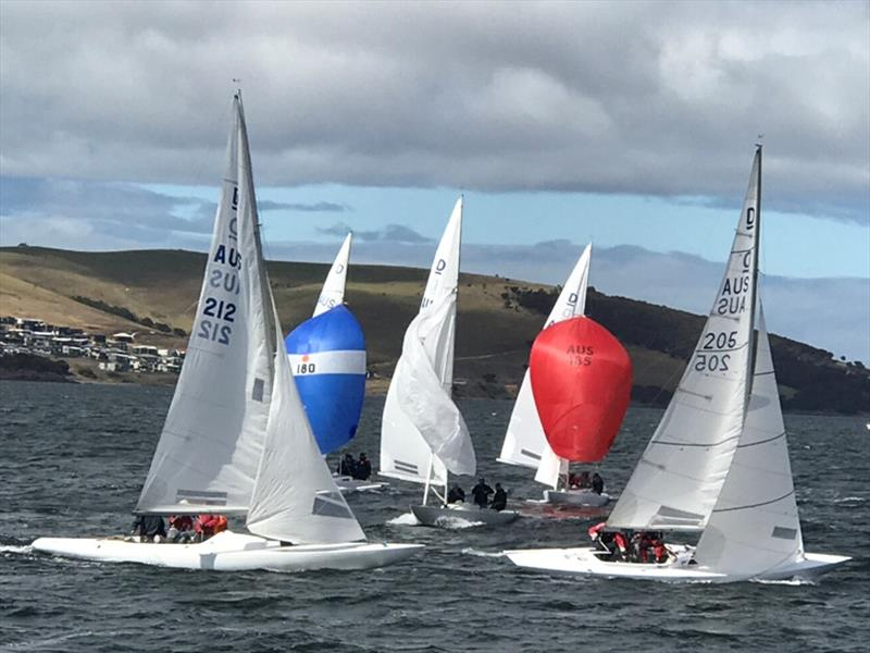 Sailing history in Tasmanian Championships on the River Derwent