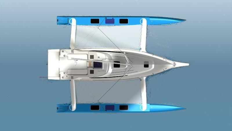 The Multihull Group announces two new members of Dragonfly trimaran