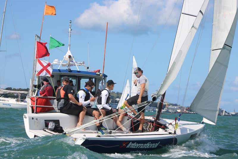 Yachting Developments Ltd New Zealand Match Racing Championships - Day 3 - photo © Andrew Delves