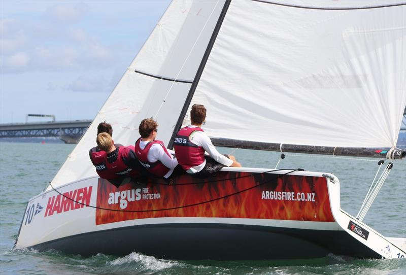 King's College - Harken National Secondary Schools National Championships, March 2019 - photo © Andrew Delves