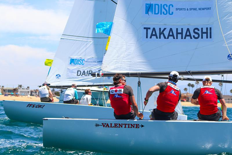 Leonard Takahashiv Frankie Dair - Governor's Cup Day 4, July 19, 2019 photo copyright Andrew Delves taken at Balboa Yacht Club and featuring the Elliott 6m class
