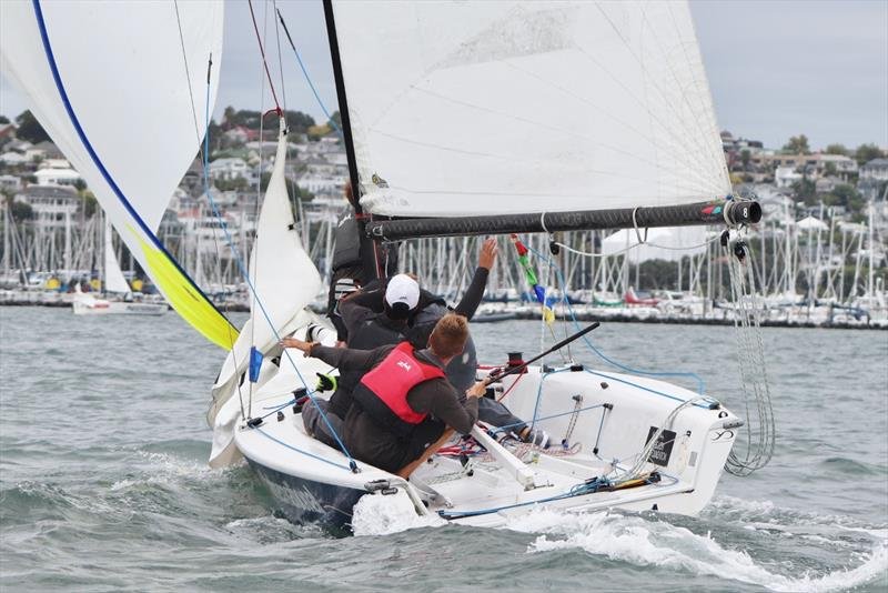 James Wilson sailing in the Nespresso Youth International Match Racing Cup will be competing in the YDL NZ Match Racing Qualifiers photo copyright Andrew Delves taken at Royal New Zealand Yacht Squadron and featuring the Elliott 6m class