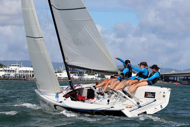 Edge Womens Match - 2019 YDL New Zealand Match Racing Championships - photo © Andrew Delves