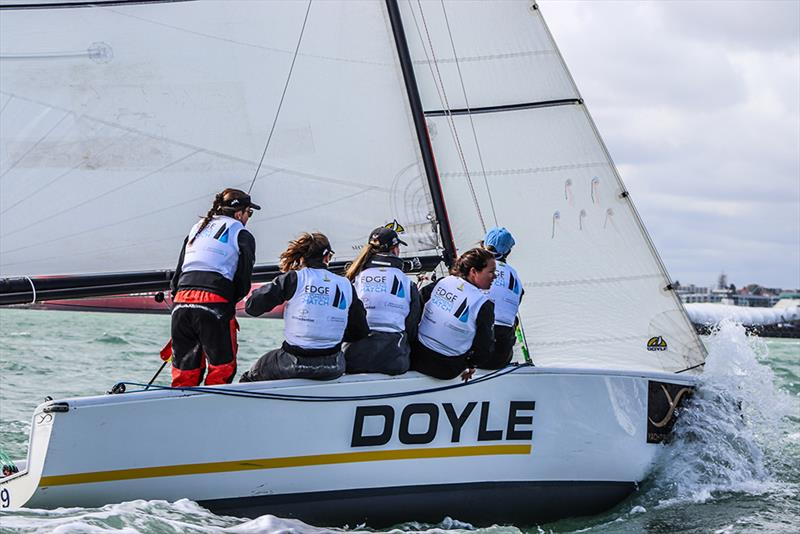 Willison Edge Womens Match  - Yachting Developments NZ Match Racing Championships - Day 3  - photo © Andrew Delves