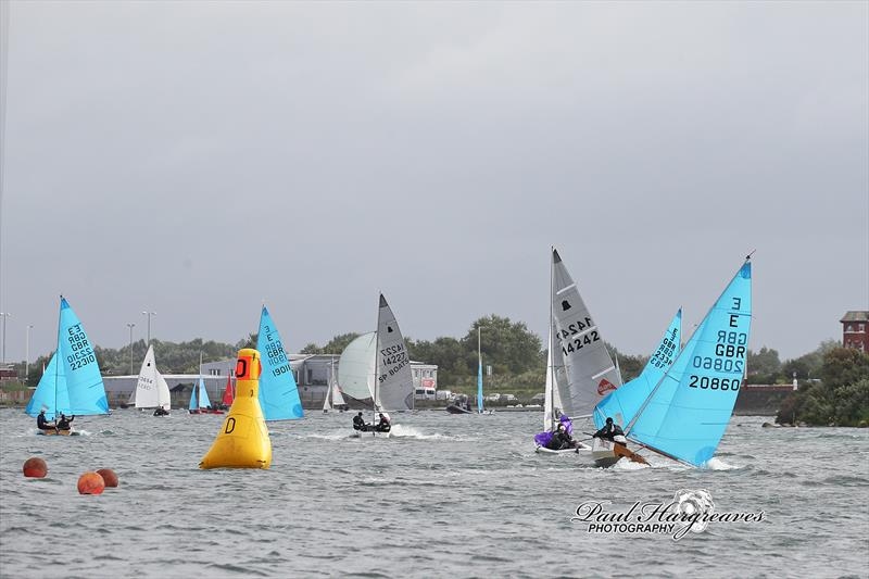 The perilous run to A mark during the 52nd West Lancs Yacht Club 24 Hour Race - photo © Paul Hargreaves