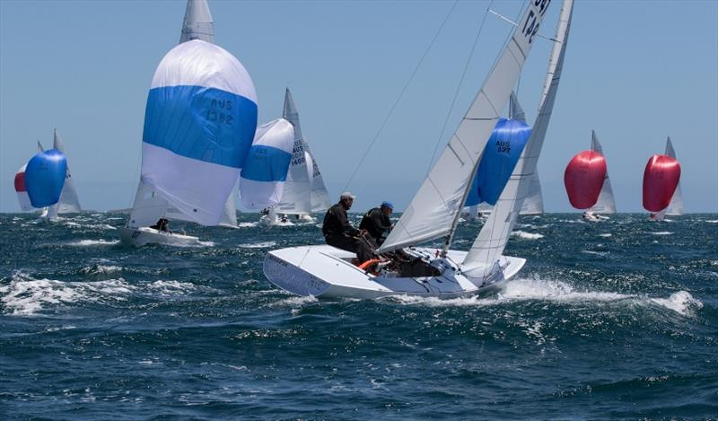 Final day - Magpie - First overall - Etchells Australian Championships at Fremantle - photo © Ron Jensen