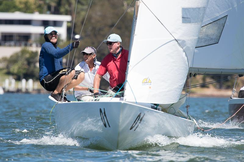 Sun Tzu Skippered by Rob Brown and crewed by Peter Bellingham and Simon Smith from Gosford Sailing club came second today  - photo © Alex McKinnon Photography