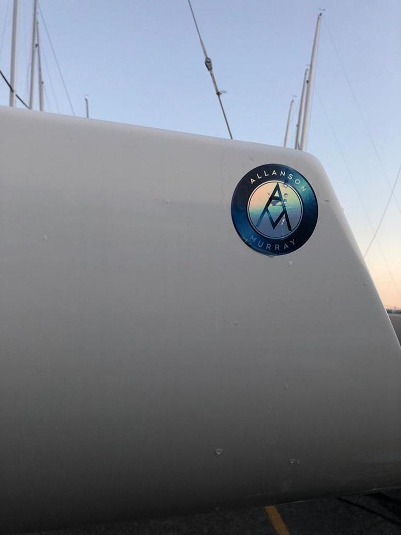The new branding for the latest type of Etchells - Introducing the Allanson Murray Etchells from Australia. The queue starts here... - photo © Nicole Shrimpton