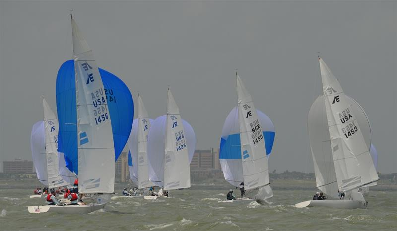 2019 CITGO Etchells World Championship - Day 2 - photo © Etchells World Championship