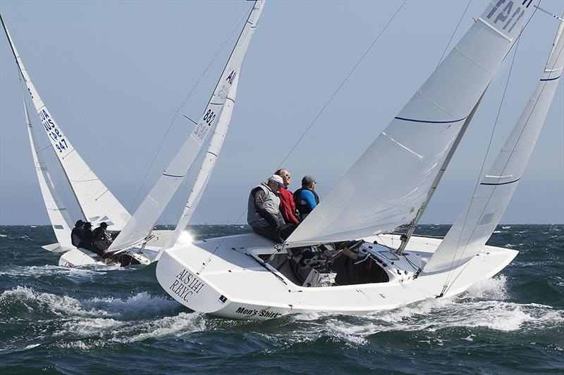 On board with Men's Shirts - Etchells Victorian State Championships - photo © ajmckinnonphotography.com