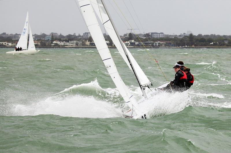 Coming back down to earth with Flying High. - 2020 Etchells Australian Championship day 4 - photo © John Curnow