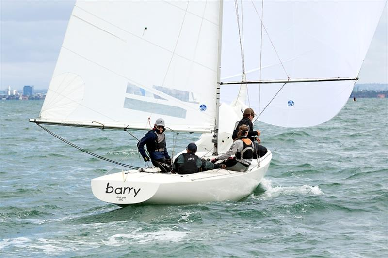 Team Barry were the youngest crew overall, despite having Damien King on board. - 2020 Etchells Australian Championship, final day - photo © John Curnow